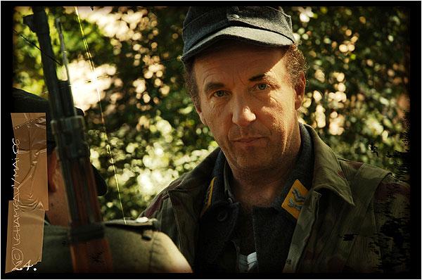 """Moyen métrage """"le hameau"""" de Guillaume Panariello - rôle : commandant Nazi"""